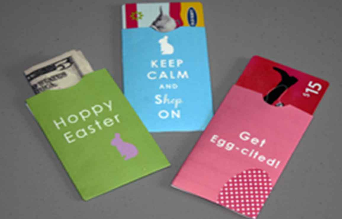 20 Ways To Make Your Own Gift Card Holders | Gcg - Free Printable Christmas Money Holders