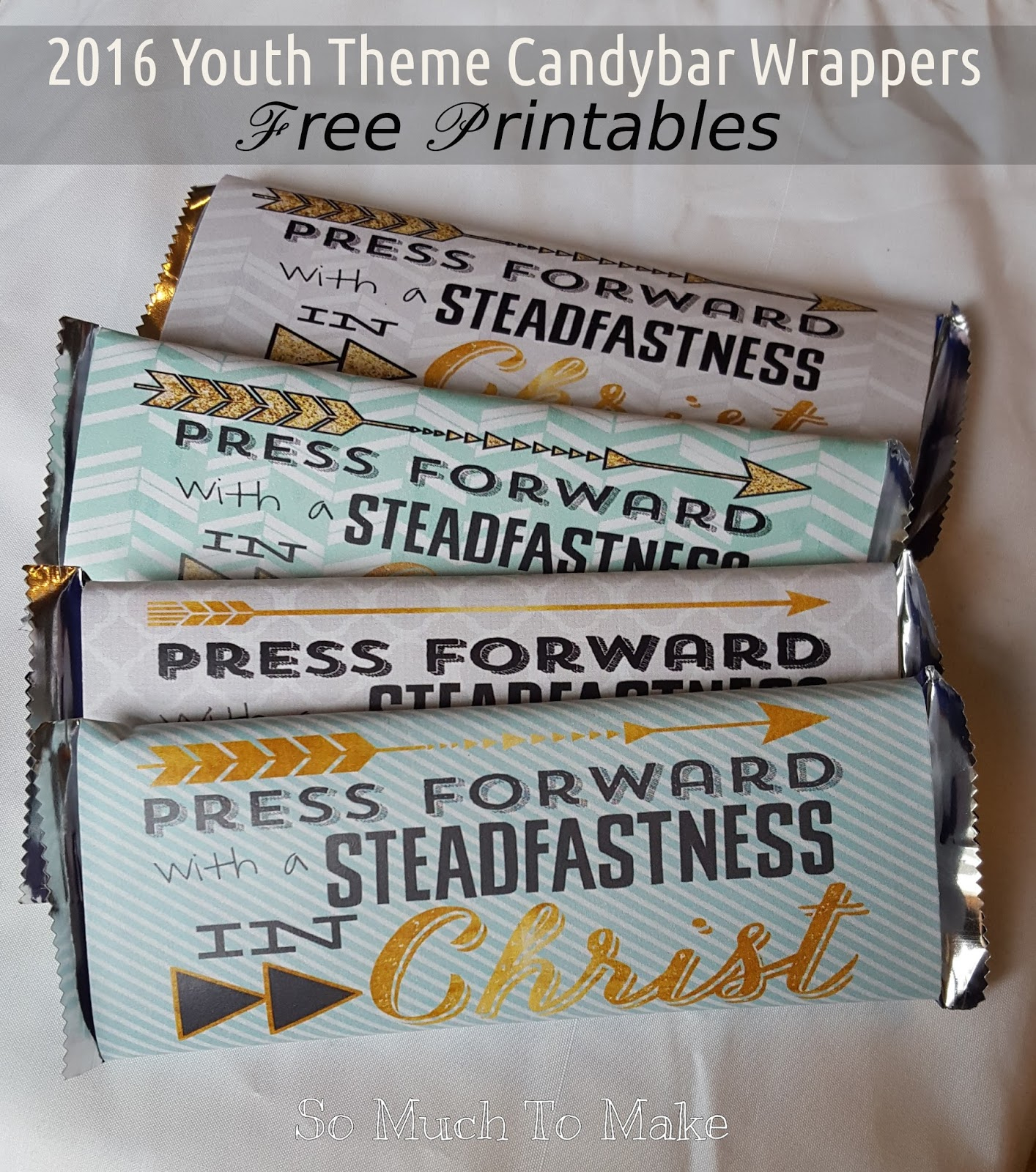 2016 Youth Theme Candybar Wrappers | So Much To Make - Free Printable Birthday Candy Bar Wrappers