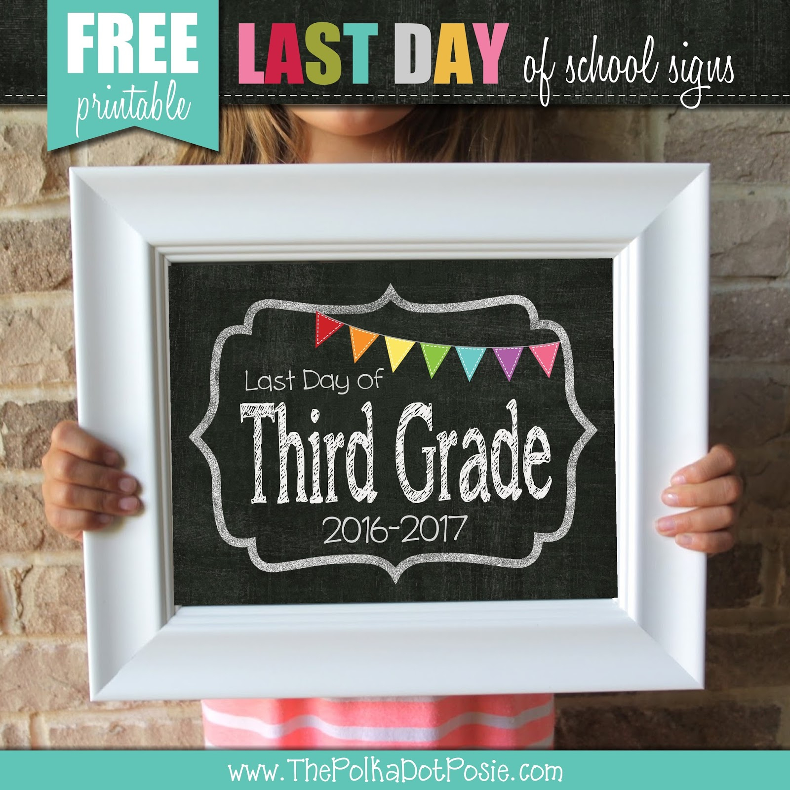 2017 First Day Of School Printables Free - 10.16.hus-Noorderpad.de • - First Day Of School Printable Free