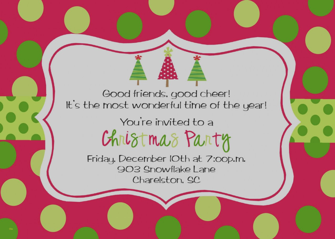 2018 Printable Christmas Party Invitations - Eventinvitationtemplates - Holiday Invitations Free Printable