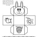2019 Easter Basket Template   Fillable, Printable Pdf & Forms | Handypdf   Free Printable Easter Egg Basket Templates