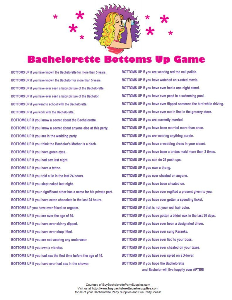 24 Free Bachelorette Party Printables Every Bride Will Love | Bridal - Free Printable Bachelorette Party Games