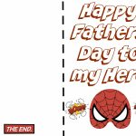 24 Free Printable Father's Day Cards | Kittybabylove   Free Printable Fathers Day Cards For Preschoolers