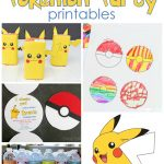 25+ Free Pokemon Party Printables   Cutesy Crafts   Free Printable Pokemon Birthday Invitations