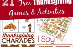 Free Printable For Thanksgiving