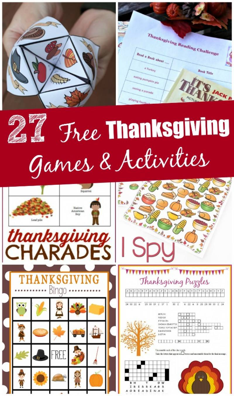 27 Free Thanksgiving Games & Activities (Printable) - Edventures - Thanksgiving Games Printable Free