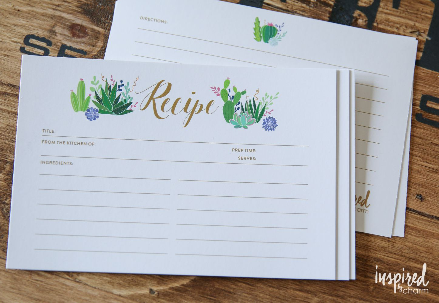 27 Sets Of Free, Printable Recipe Cards - Free Printable Recipe Cards
