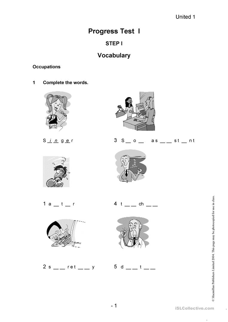 28 Free Esl Placement Test Worksheets - Free Esl Assessment Test Printable