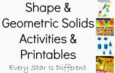 Free Printable Geometric Shapes