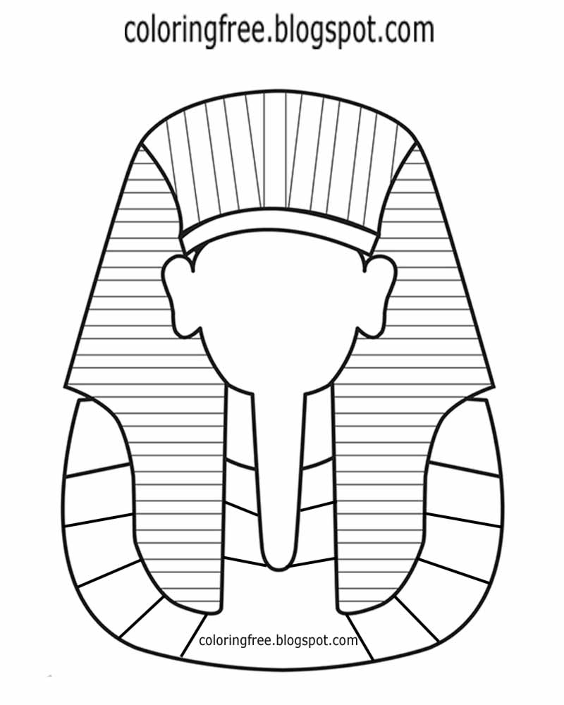 3 Sarcophagus Drawing Mask For Free Download On Ayoqq - Free Printable Sarcophagus