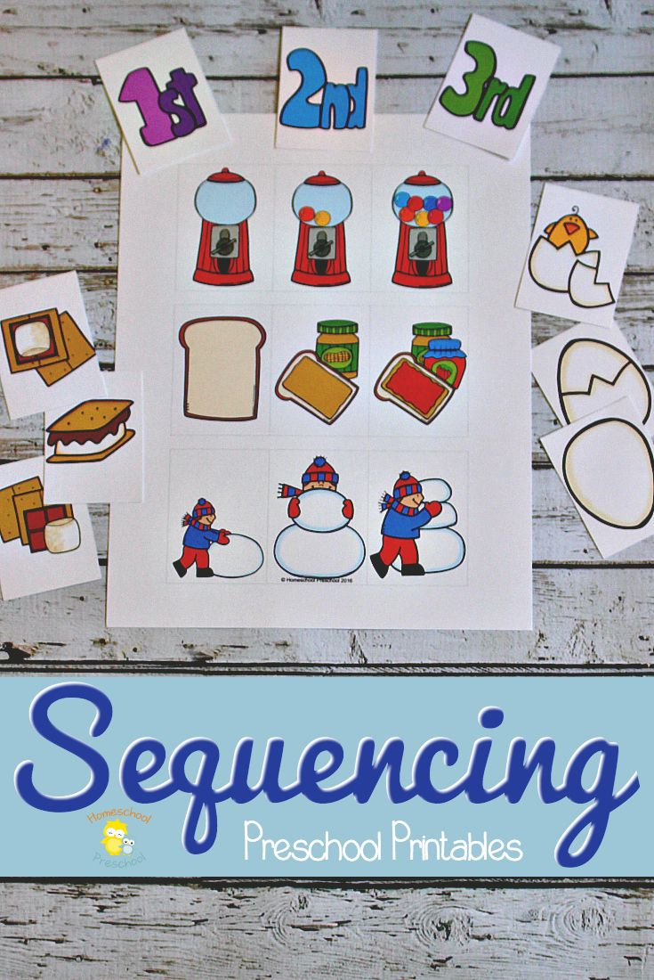 3 Step Sequencing Cards Free Printables For Preschoolers - Free Printable Sequencing Cards For Preschool
