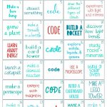 30 Days Of Stem Activities   Stem Challenge   Natural Beach Living   Free Printable Stem Activities