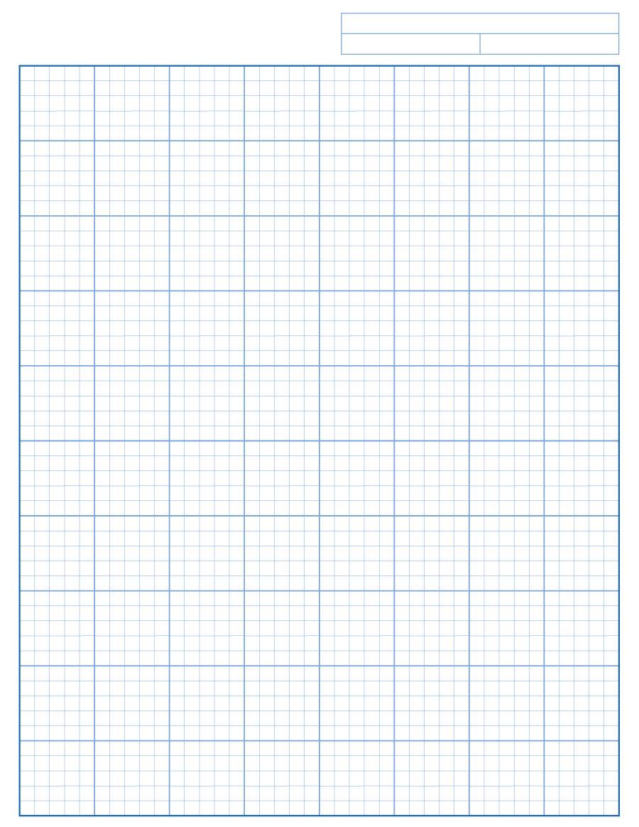 30+ Free Printable Graph Paper Templates (Word, Pdf) ᐅ Template Lab - Free Printable Graph Paper 1 4 Inch
