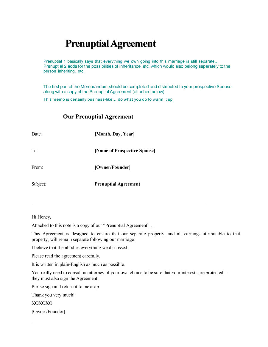 30+ Prenuptial Agreement Samples & Forms - Template Lab - Free Printable Divorce Papers Nevada