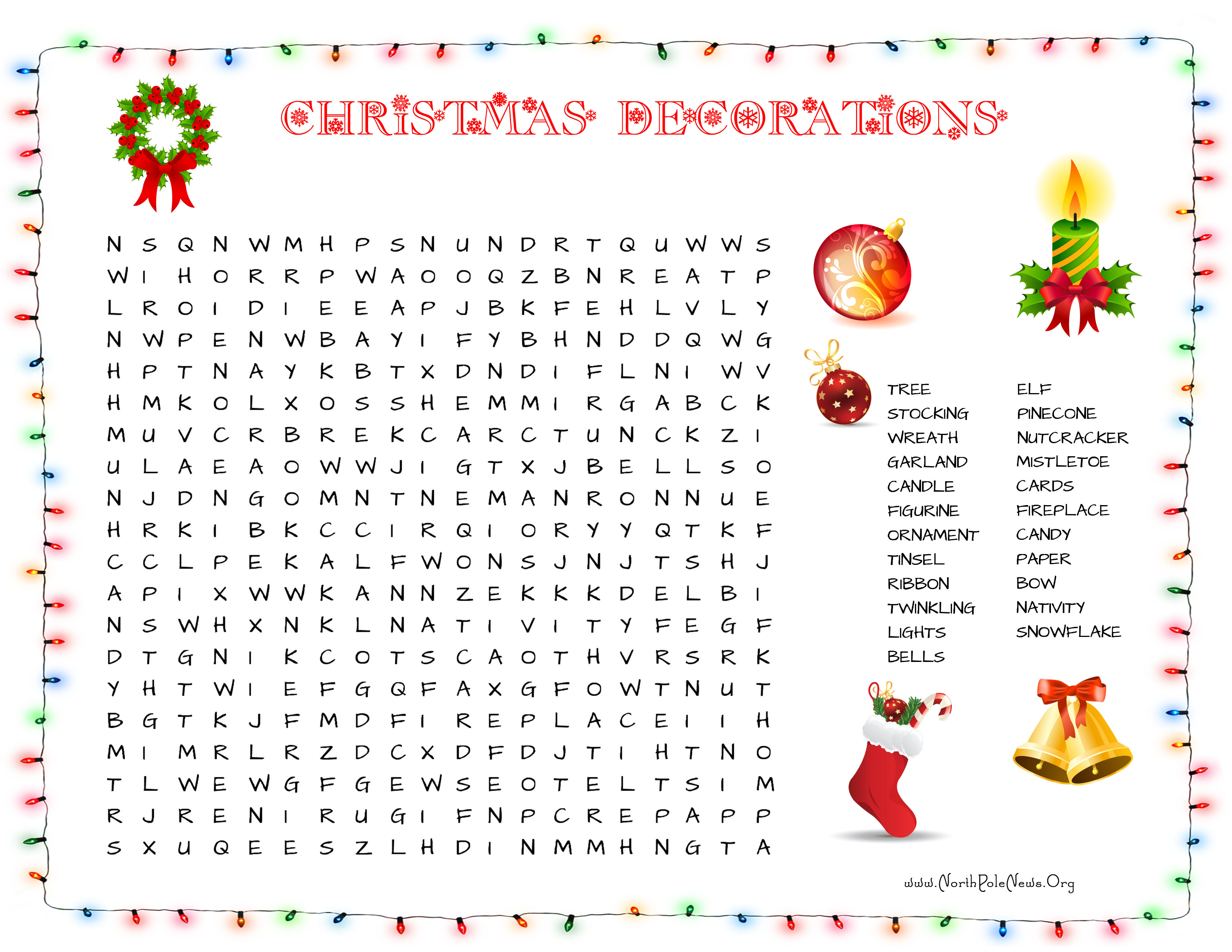 31 Free Christmas Word Search Puzzles For Kids - Free Printable Christmas Word Search