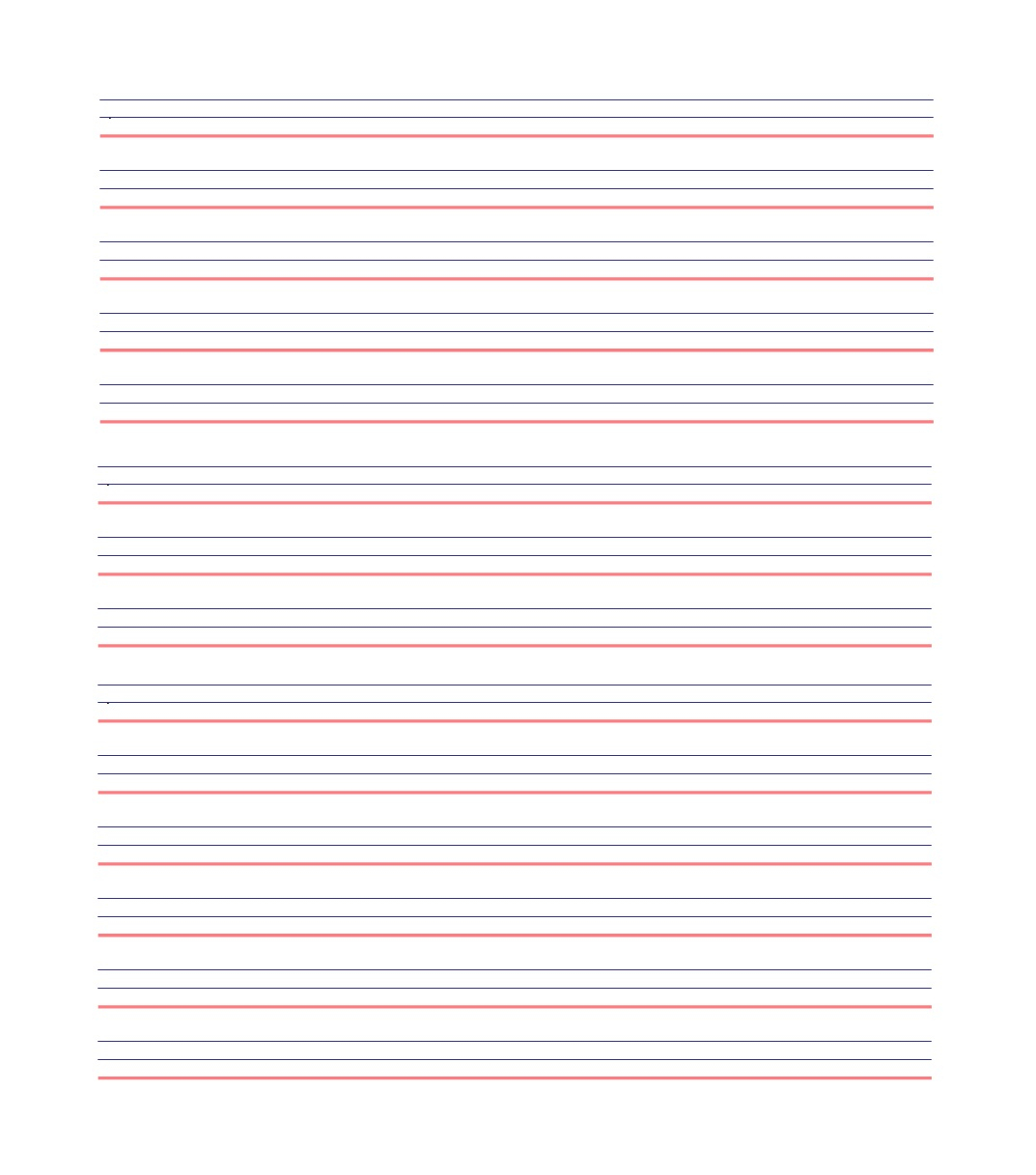 32 Printable Lined Paper Templates - Template Lab - Free Printable Lined Paper
