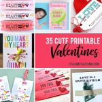 35 Adorable Diy Valentine's Cards To Print At Home For Your Kids – Free Printable Valentines Day Cards For Her