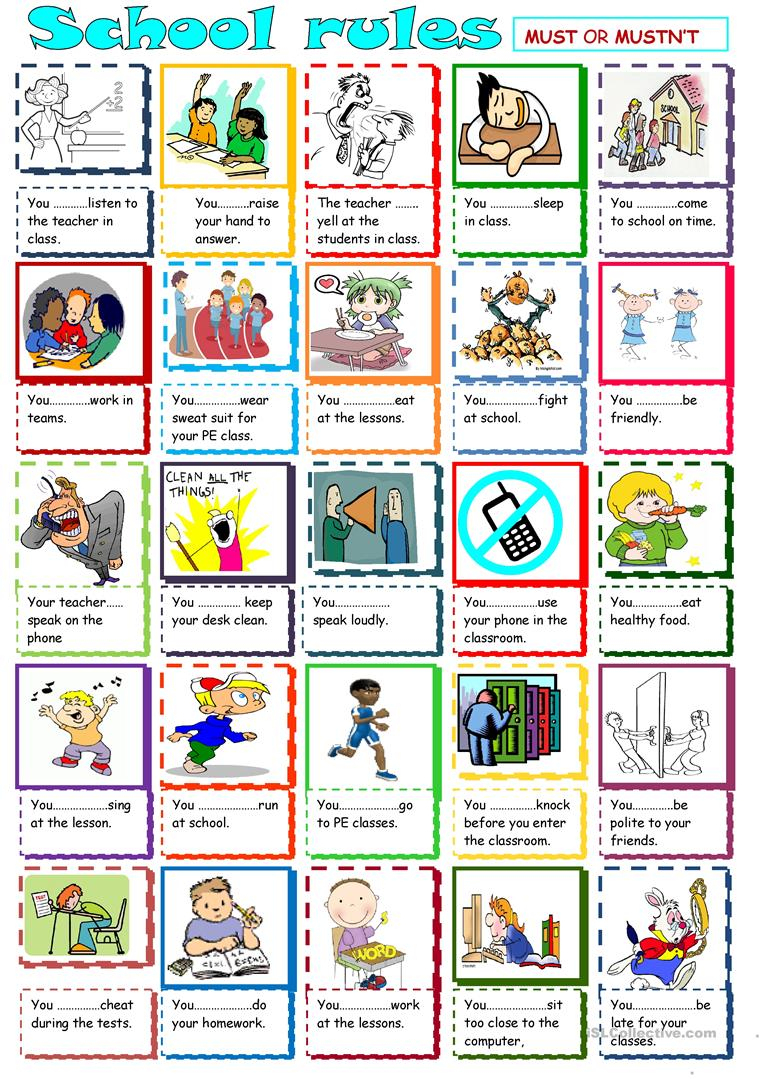 36 Free Esl Classroom Rules Worksheets - Free Printable Classroom Rules Worksheets