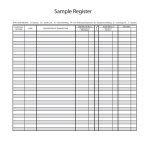 37 Checkbook Register Templates [100% Free, Printable]   Template Lab   Free Printable Check Register With Running Balance