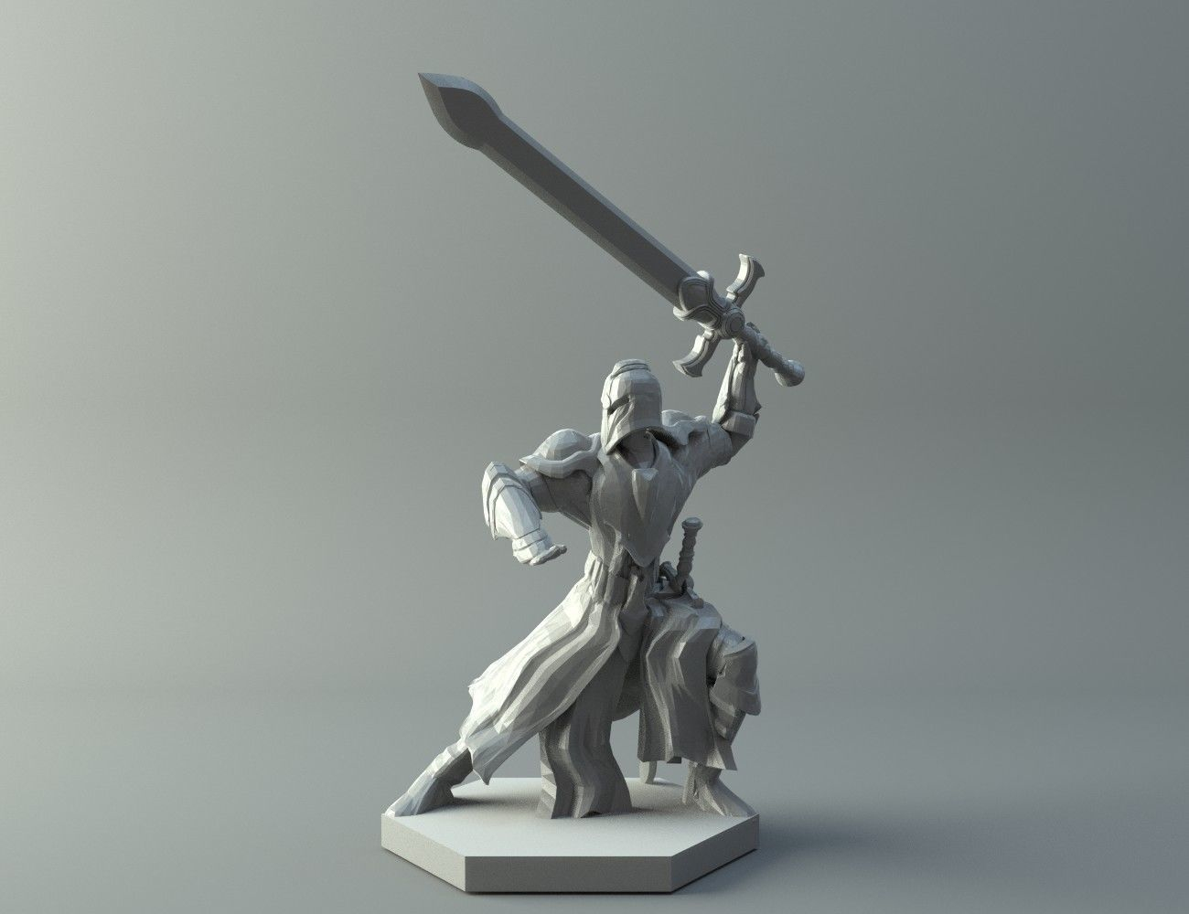 3D Print Model Character Warrior | Cgtrader - Free 3D Printable Models