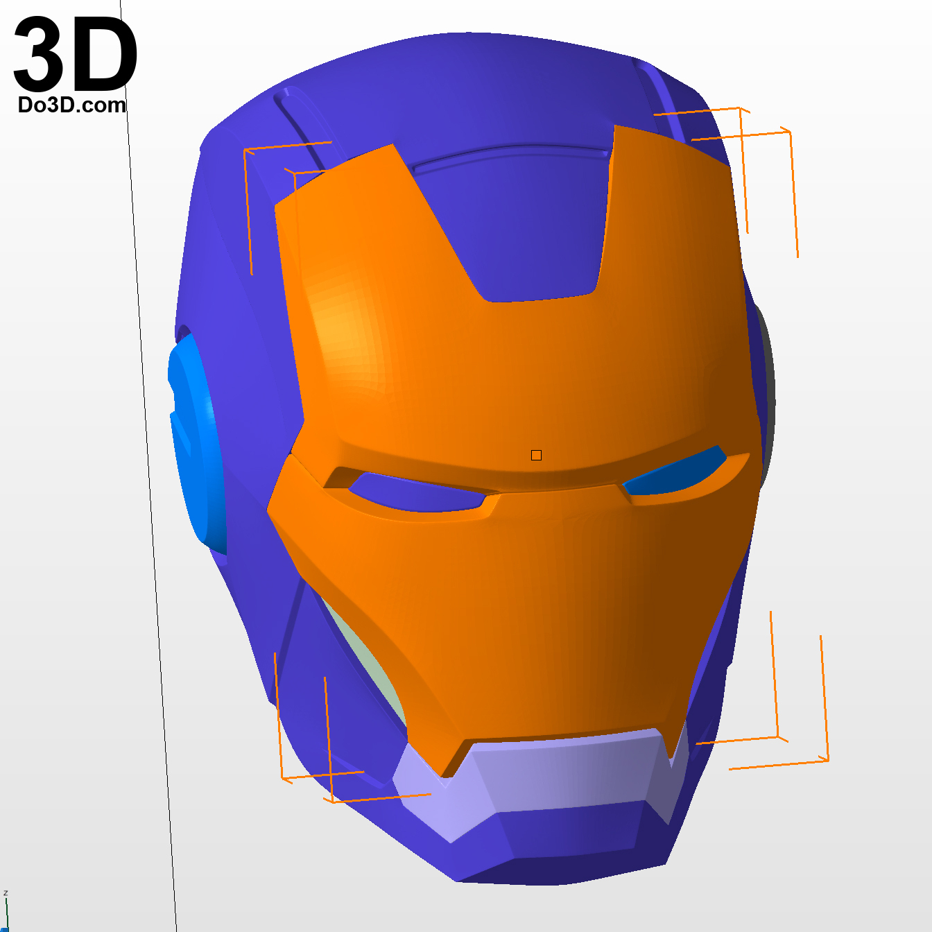 3D Printable Model: Mark Vii Tony Stark Armor (Mk 7 Suit) From Iron - Free Printable Ironman Mask