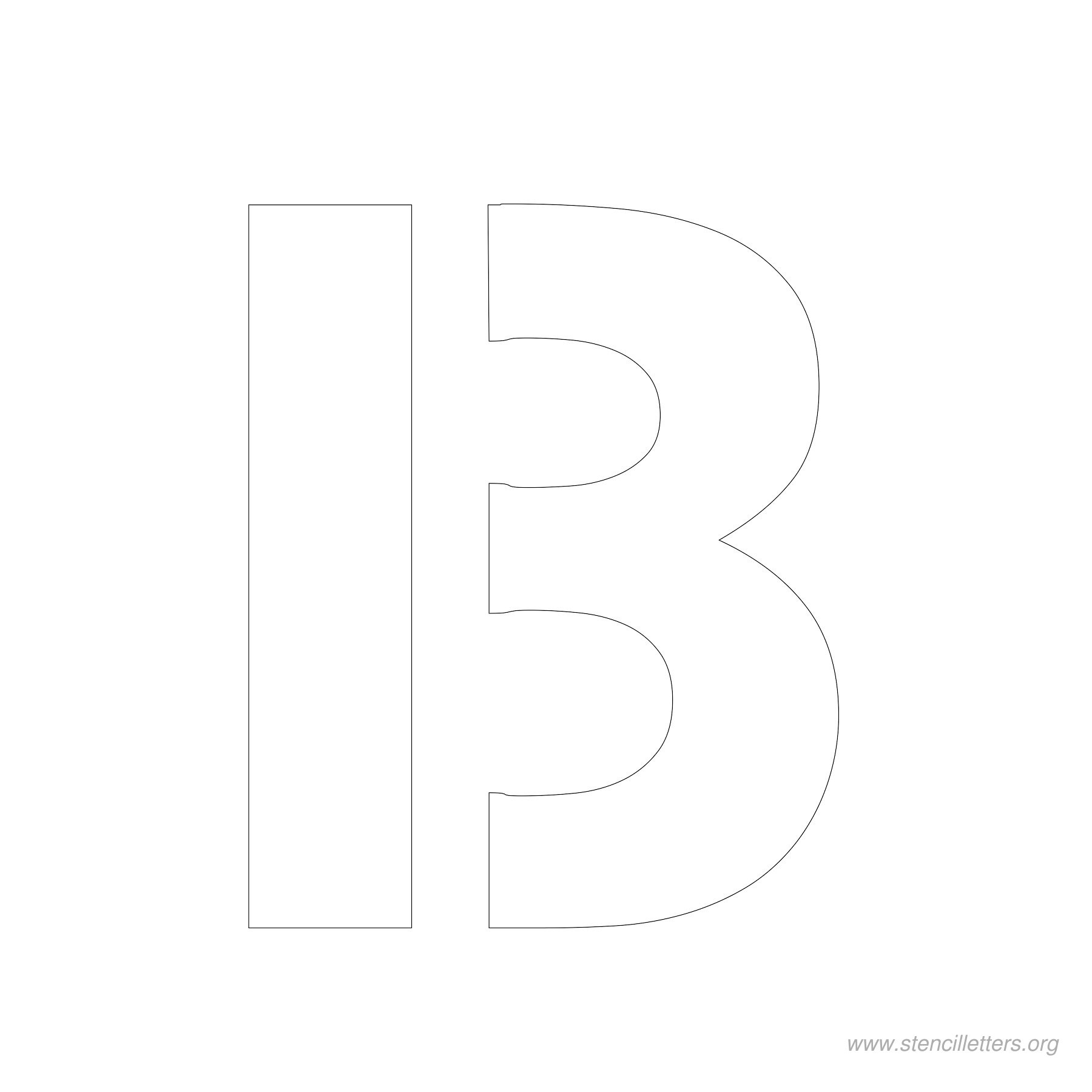 4 Inch Stencil Letters | Stencil Letters Org - Free Printable 12 Inch Letter Stencils
