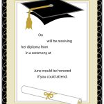 40+ Free Graduation Invitation Templates – Template Lab – Free Printable Graduation Announcements