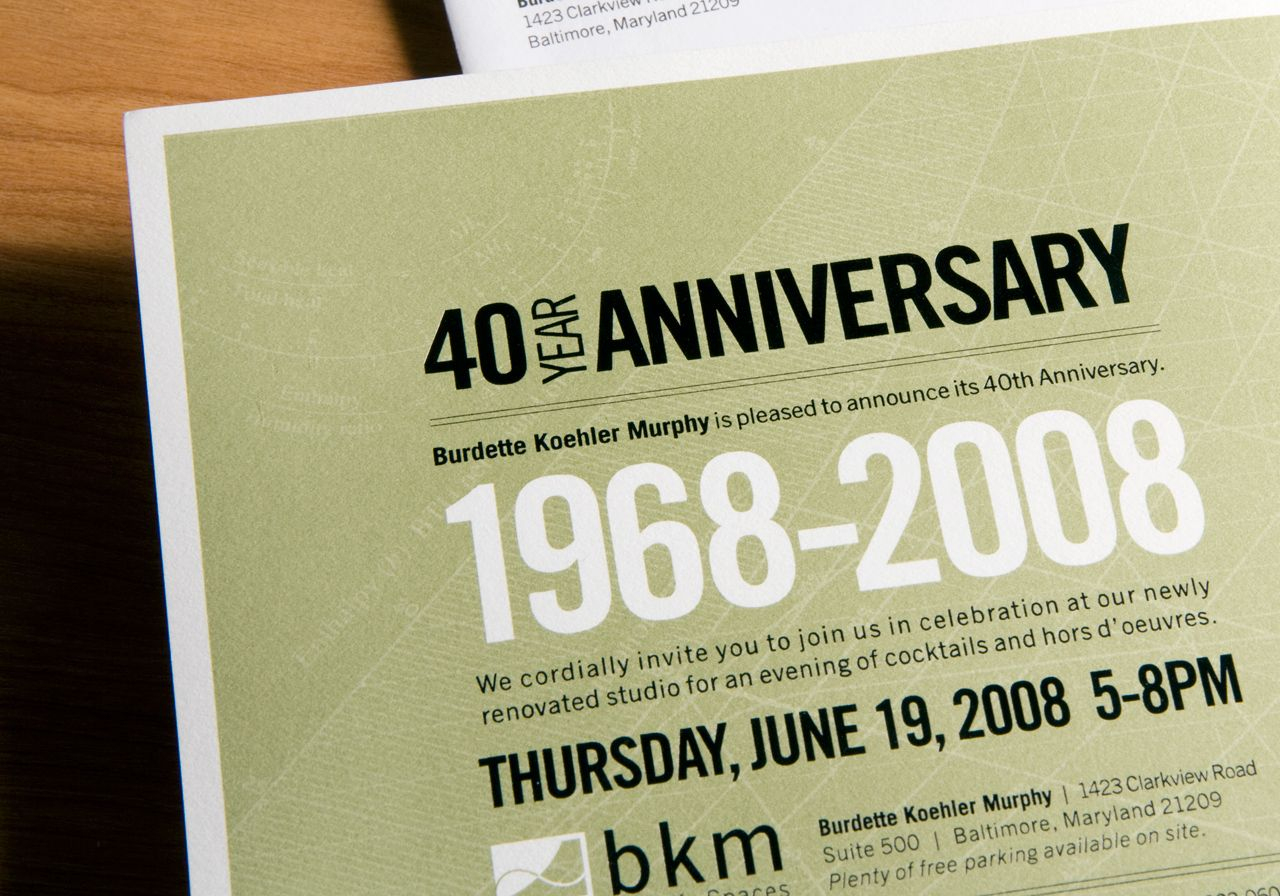 40Th Anniversary Corporate Invitation … | Idea | Pinterest - Free Printable 40Th Anniversary Invitations