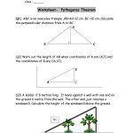 48 Pythagorean Theorem Worksheet With Answers [Word + Pdf]   Free Printable Pythagorean Theorem Worksheets