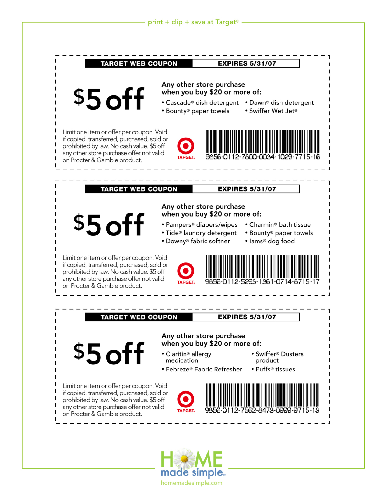 5-Off-Free-Printable-Coupons-Target - Free Printable Coupons 2017