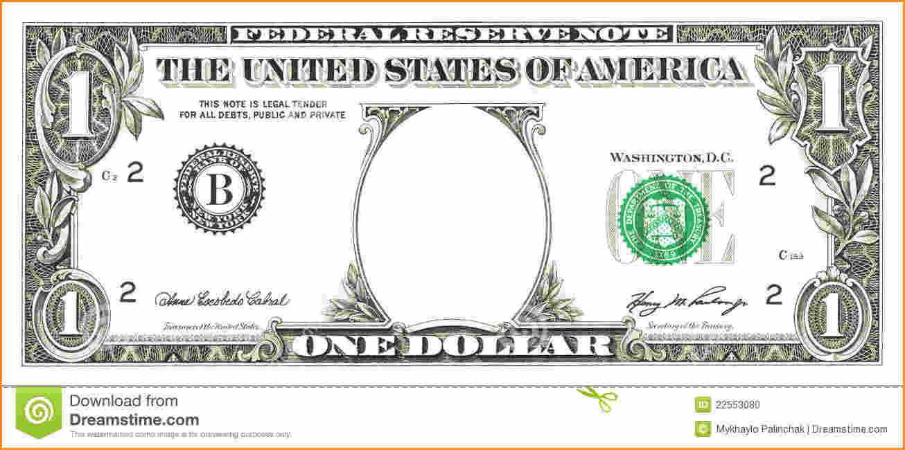 50 Dollar Bill Template Printable Money Front And Back Download Them - Free Printable Dollar Bill Template