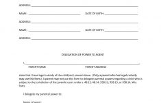50 Free Power Of Attorney Forms & Templates (Durable, Medical,general) – Free Printable Power Of Attorney Form California