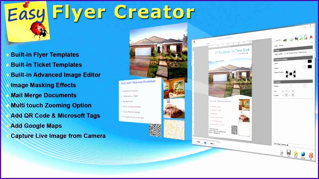 50 Lovely Flyer Creator Online Free | Speak2Net - Free Printable Flyer Maker Online