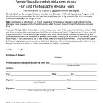 53 Free Photo Release Form Templates [Word, Pdf] – Template Lab – Free Printable Volunteer Forms