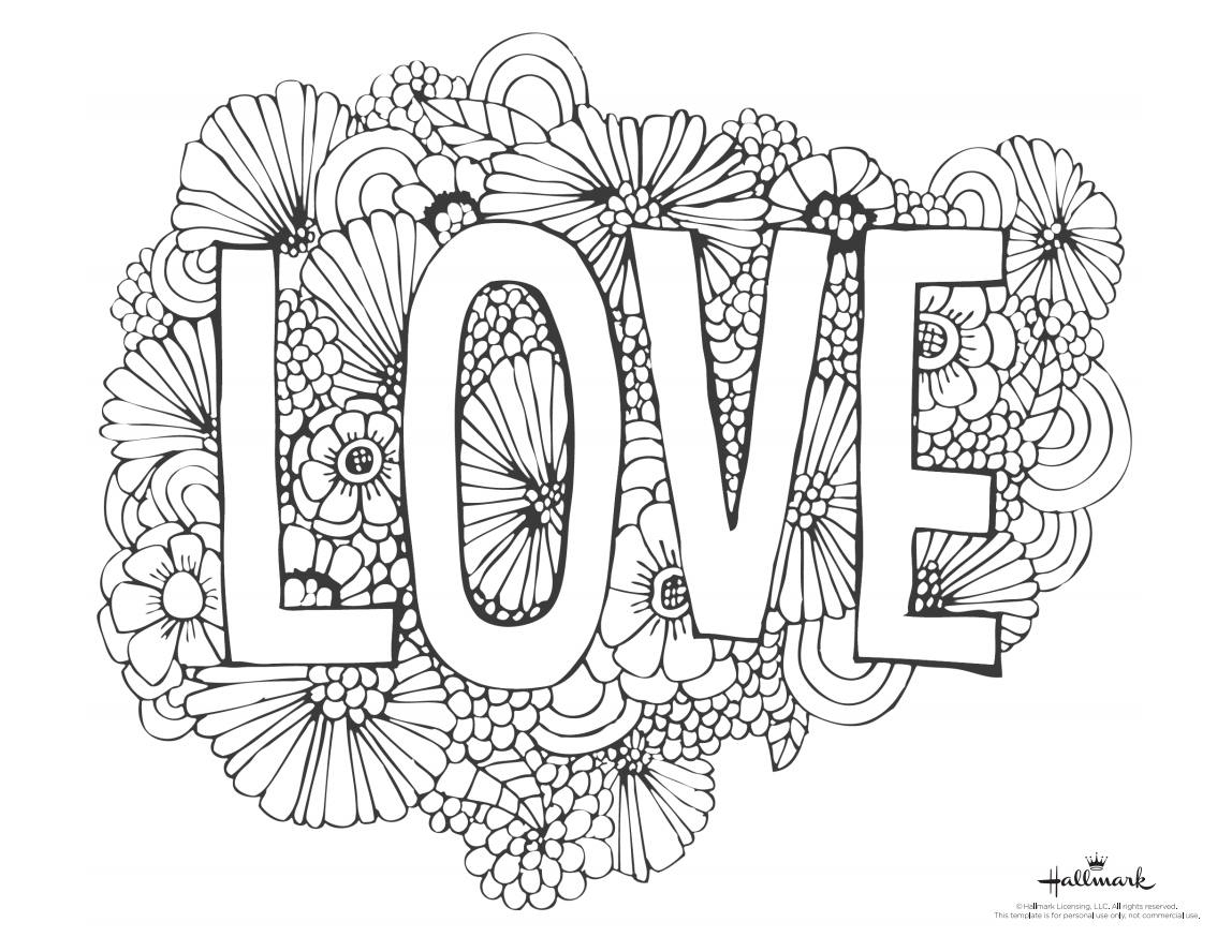 543 Free, Printable Valentine's Day Coloring Pages - Free Printable Valentine Coloring Pages