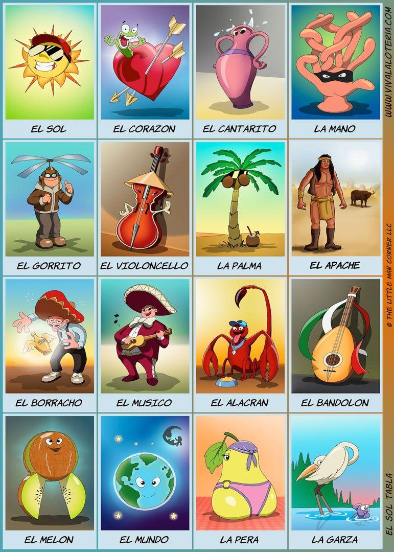 5X7 Printables (Print At Walgreens) | Pancha Pochita! | Pinterest - Free Printable Loteria Game