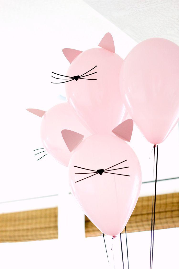 6 Chic Ways To Add Catitude To Your Next Soiree | Birthdays Ideas - Free Printable Kitten Birthday Invitations