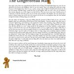 6 Free Esl The Gingerbread Man Worksheets   Free Printable Version Of The Gingerbread Man Story