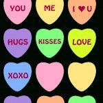 6 Free Printable Heart Templates   Valentine Ideas   Pinterest   Free Printable Valentine's Day Stencils
