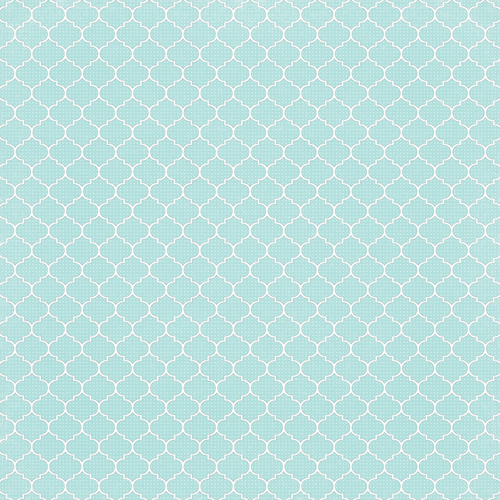 6 Light Turquoise Dotted Moroccan Tile - Free Printable Di… | Flickr - Free Printable Moroccan Pattern