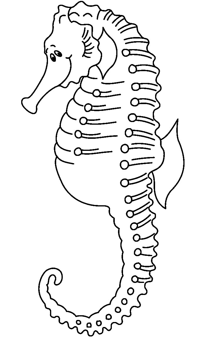 65+ Sea Creature Templates - Printable Crafts & Colouring Pages - Free Printable Sea Creature Templates