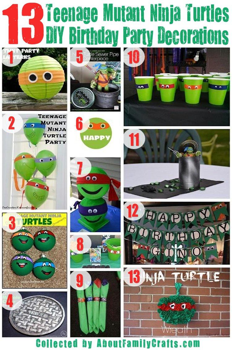 75+ Diy Teenage Mutant Ninja Turtles Birthday Party Ideas – About - Free Printable Teenage Mutant Ninja Turtle Cupcake Toppers