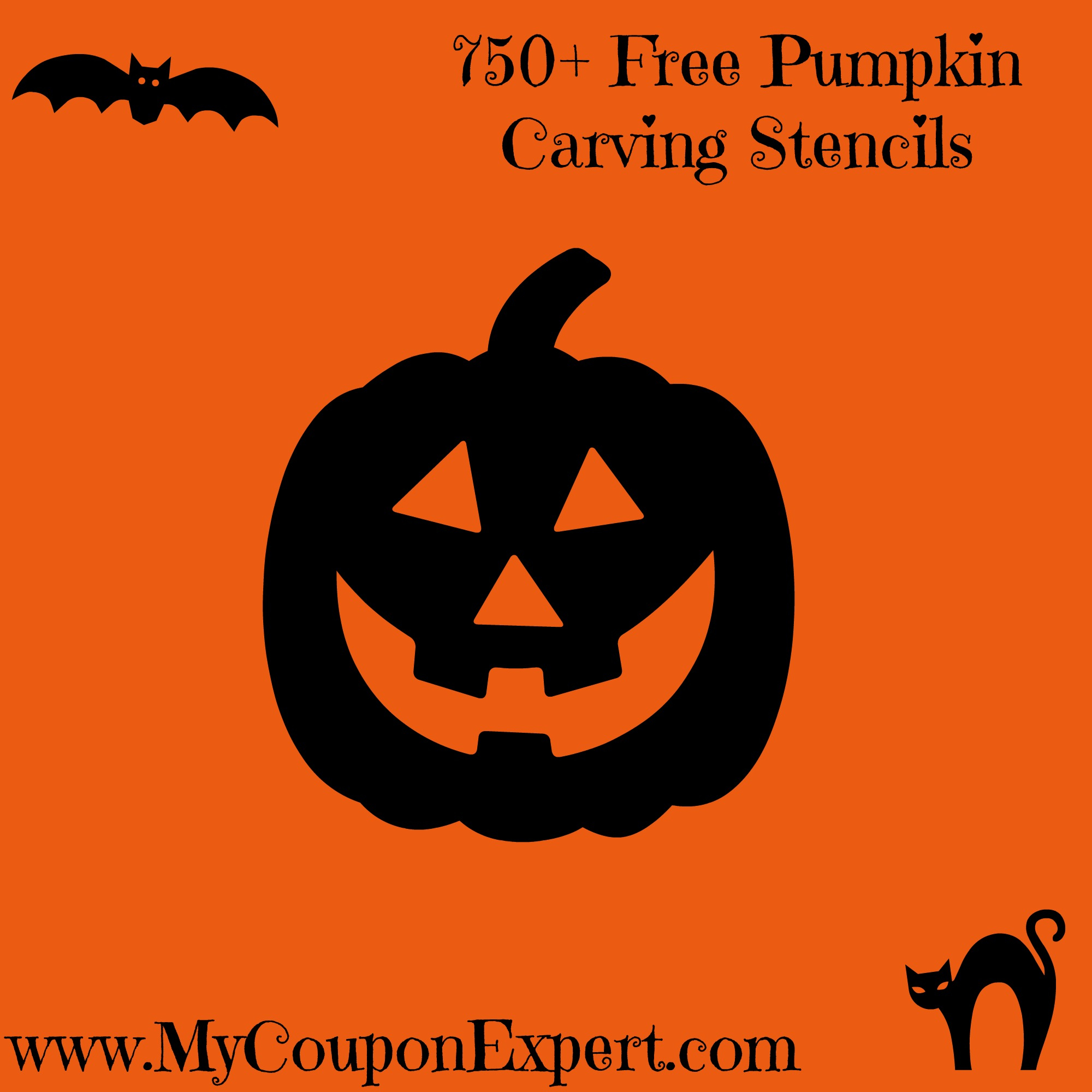 750+ Free Pumpkin Carving Stencils · - Pumpkin Patterns Free Printable