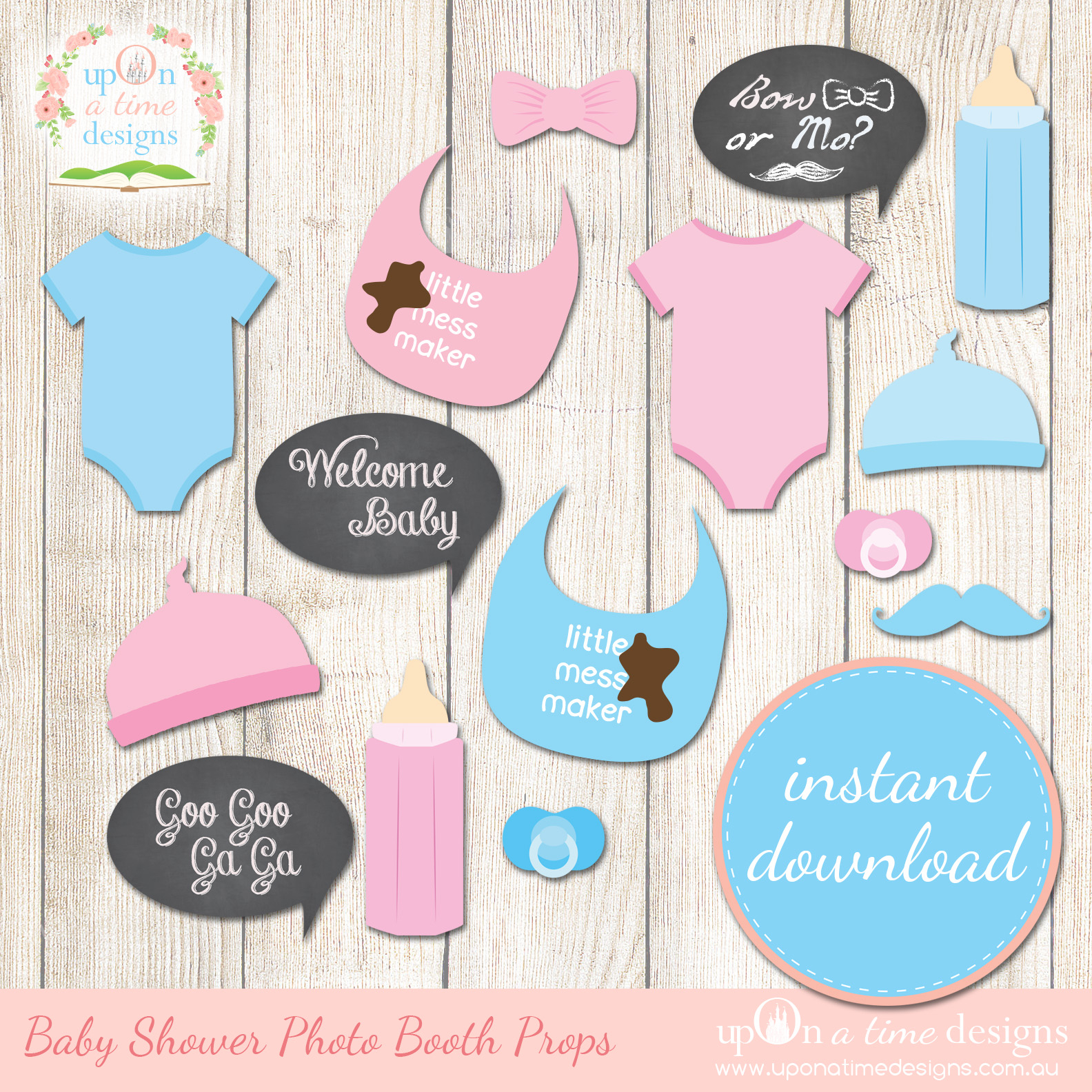 8 Best Images Of Free Printable Baby Shower Props Booth Kohler - Free Printable Boy Baby Shower Photo Booth Props