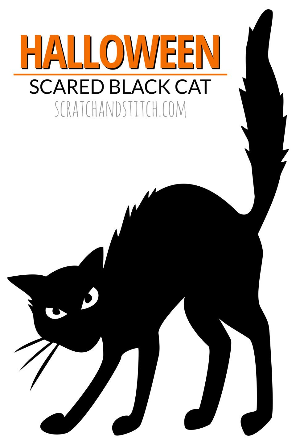8 Easy Halloween Decor Ideas | Halloween Crafts & Decor | Pinterest - Free Printable Pin The Tail On The Cat
