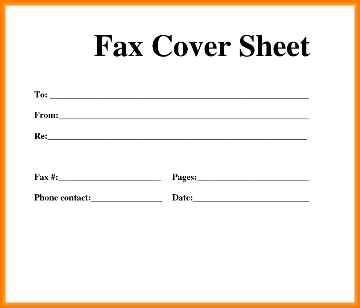 8+ Free Fax Cover Sheet Printable Pdf | Ledger Review - Free Printable Fax Cover Sheet