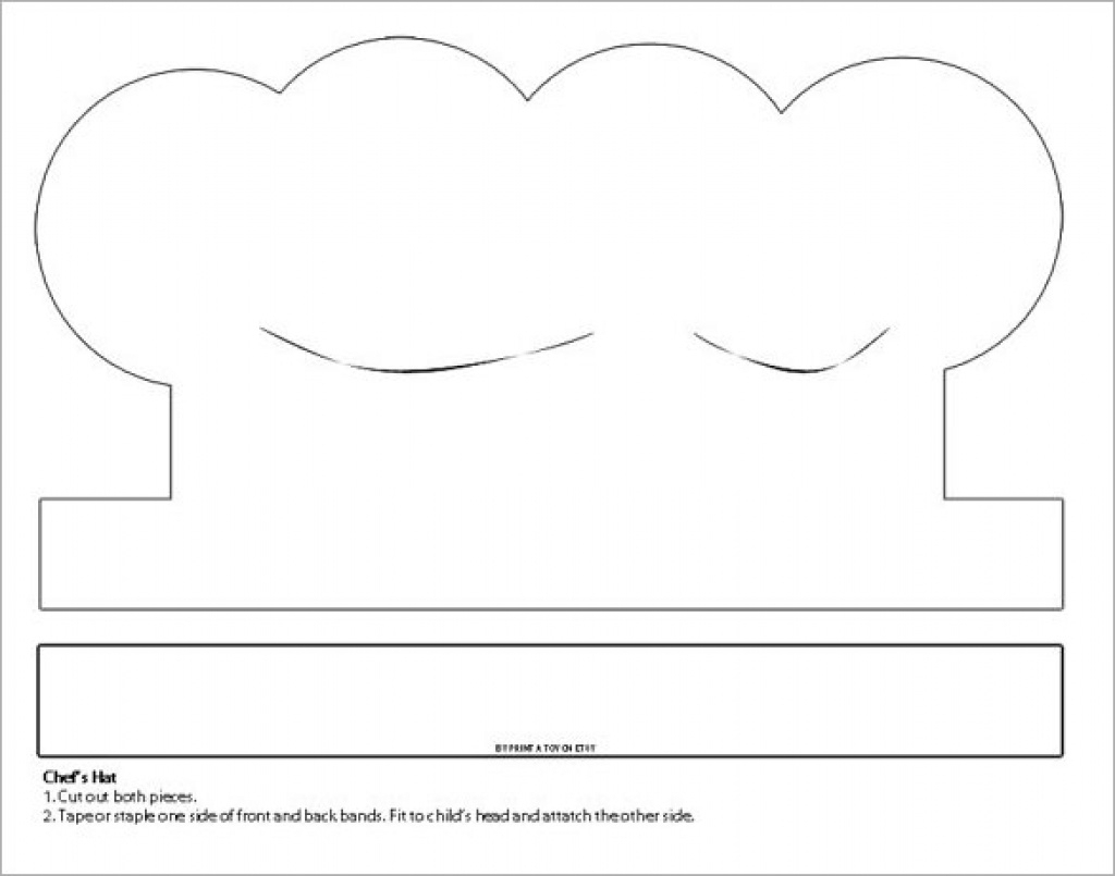 8+ Paper Hat Templates & Designs | Free & Premium Templates Inside - Free Printable Chef Hat Pattern