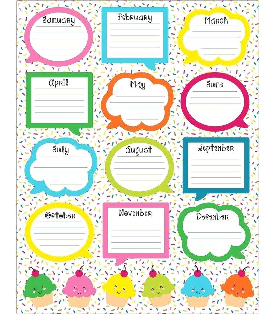 89+ Birthday Charts For Classroom - Printable Birthday Charts - Free Printable Birthday Graph