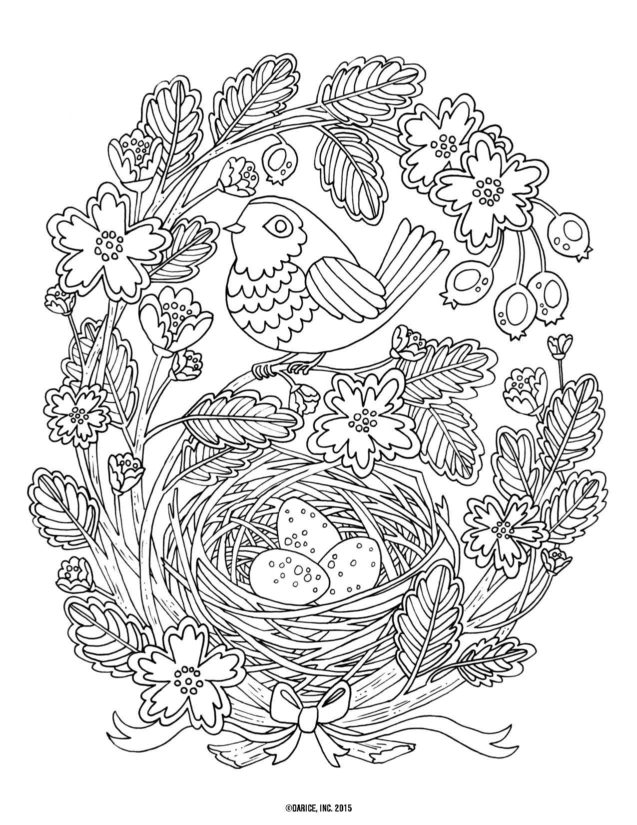 9 Free Printable Adult Coloring Pages | Pat Catan's Blog - Free Printable Flower Coloring Pages For Adults