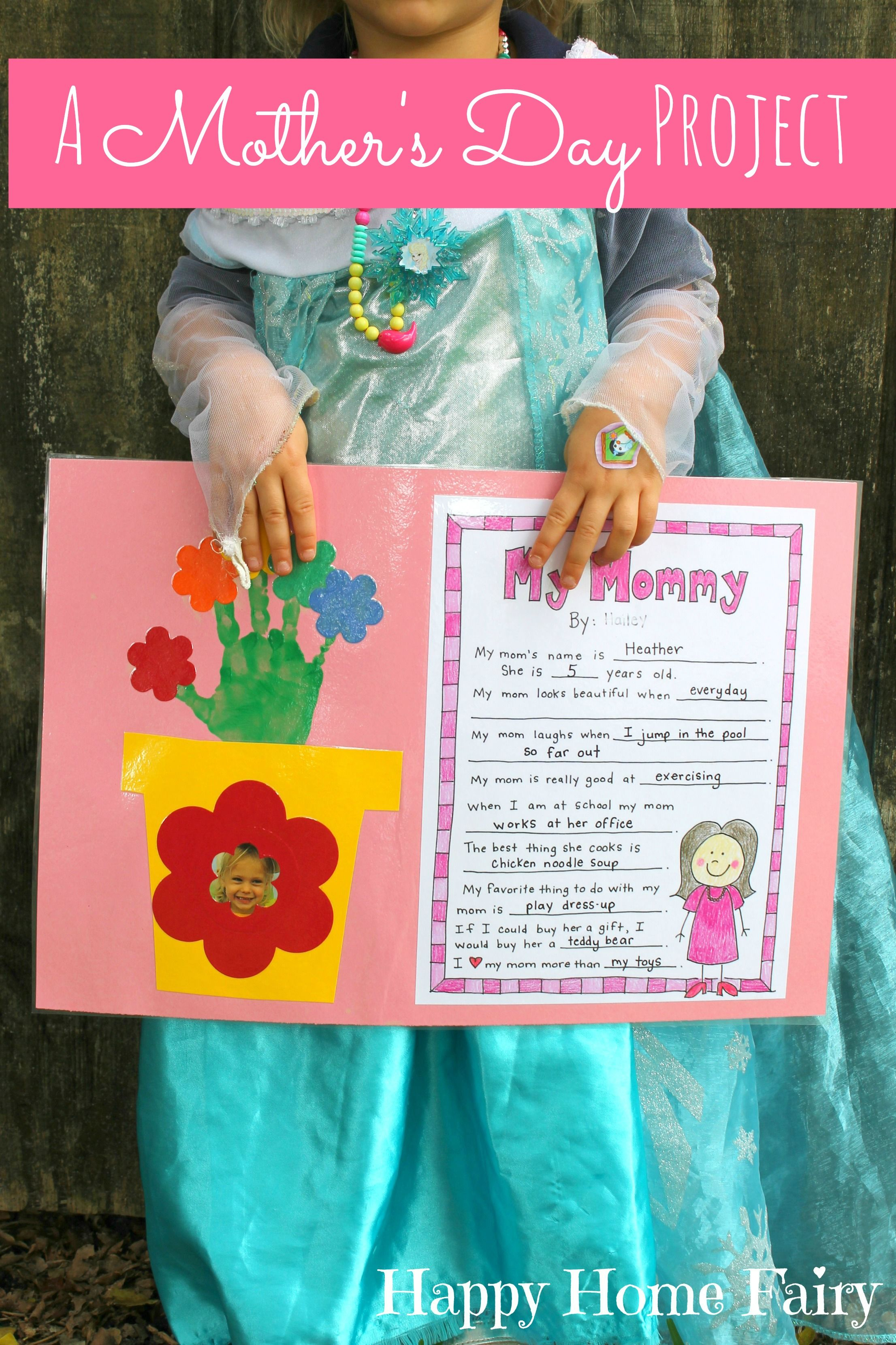 A Mother's Day Project - Free Printable | Mother's Day | Mothers Day - Free Printable Mother's Day Games